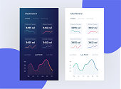 Fitness app. Ui ux design. Web design and mobile template. Infographic on benefits of healthy lifestyle. Vector illustration