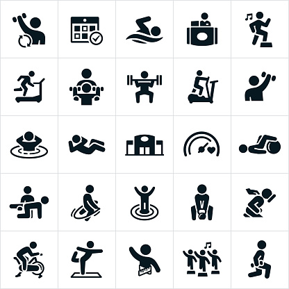 Fitness Facility Icons