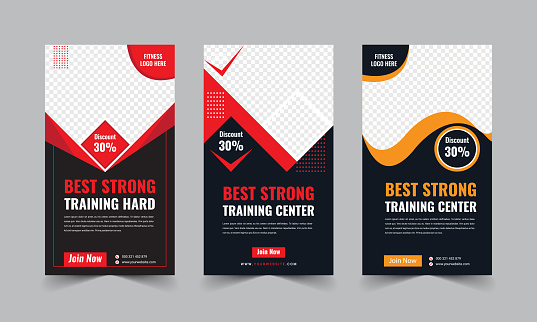 Fitness Gym Banner Template