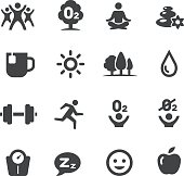 Fitness, Healthy Life Style Icons - Acme Series