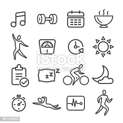 Fitness, Healthy Lifestyle, Exercising