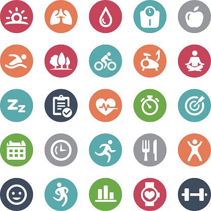 Fitness Icons - Bijou Series