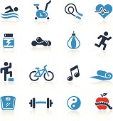 Fitness Icons Two Color | Pro Series