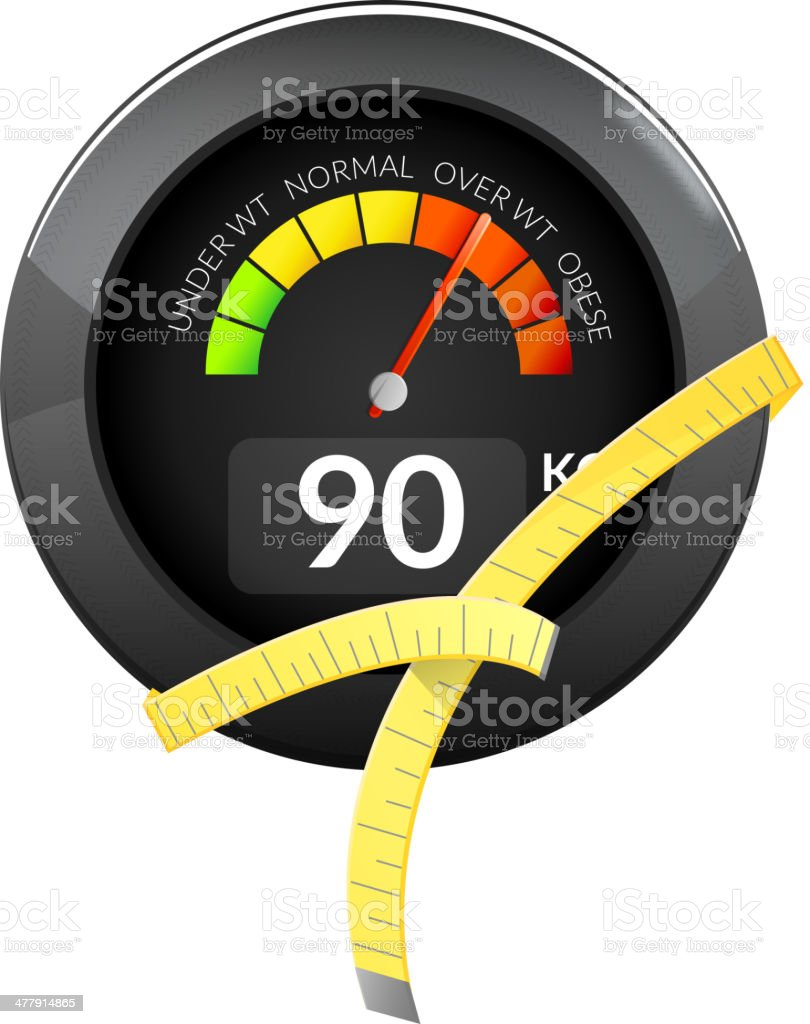 Fitness Meter royalty-free fitness meter stock vector art & more images of activity