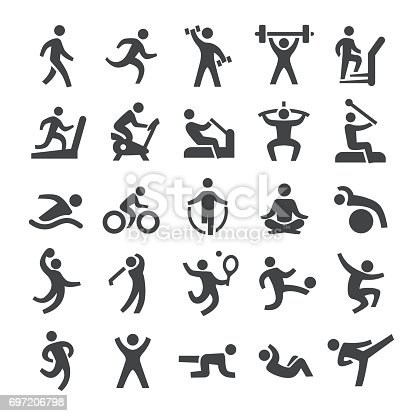 Fitness method Icons