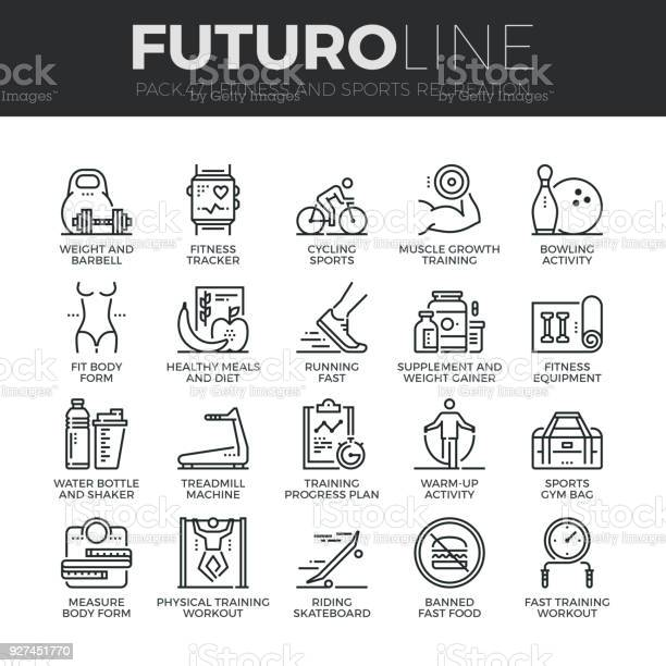 Fitness recreation futuro line icons set vector id927451770?b=1&k=6&m=927451770&s=612x612&h=pty1p jk6mrko bpoxvijcssctrqwuysdsdwhxa9yao=