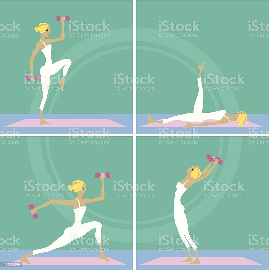 Fitness time royalty-free fitness time stock vector art & more images of adult