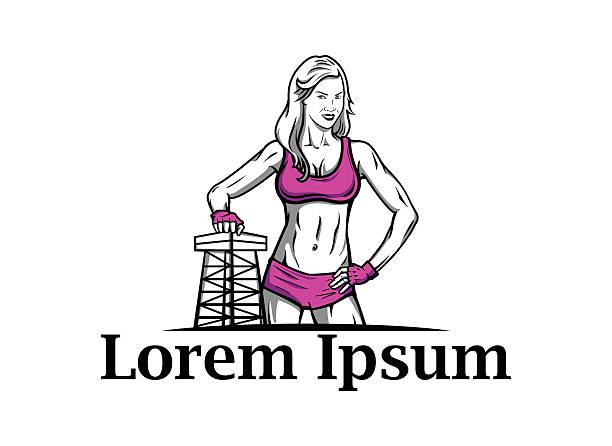 illustrazioni stock, clip art, cartoni animati e icone di tendenza di fitness vettoriale icona - runner rehab gym