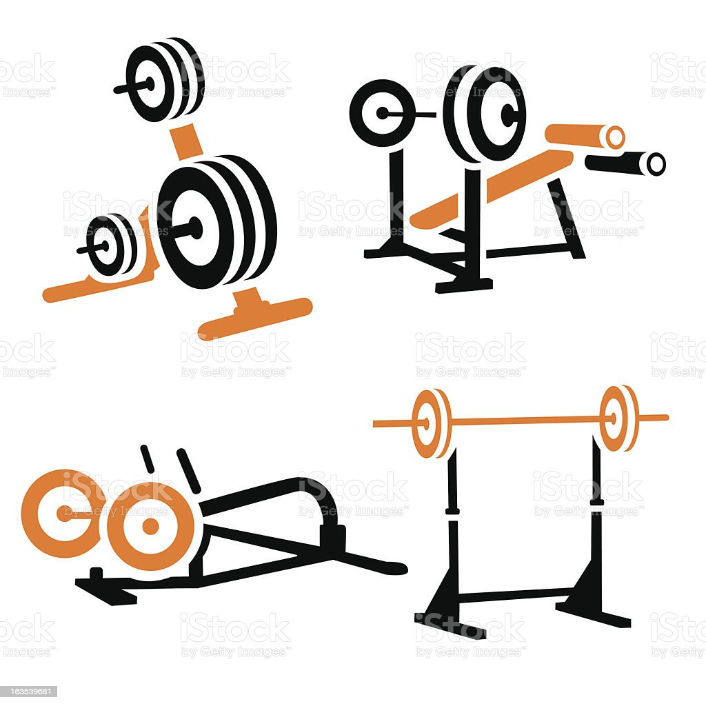 Fitness Vector  Icons Series royalty-free stock vector art