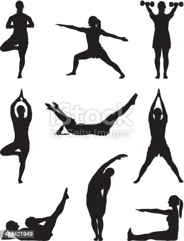 Fitness woman doing yoga workouthttp://www.twodozendesign.info/i/1.png