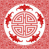A traditional Chinese motif, expressive of the auspicious
