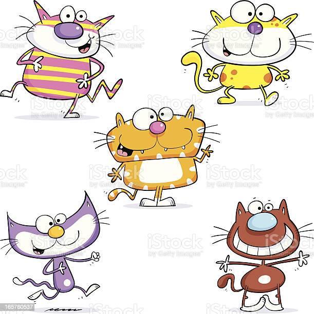 Five cool cats vector id165760537?b=1&k=6&m=165760537&s=612x612&h=a4ajkiqrl 45rl7sru ltyx5cvsj5vup591korcdwcm=
