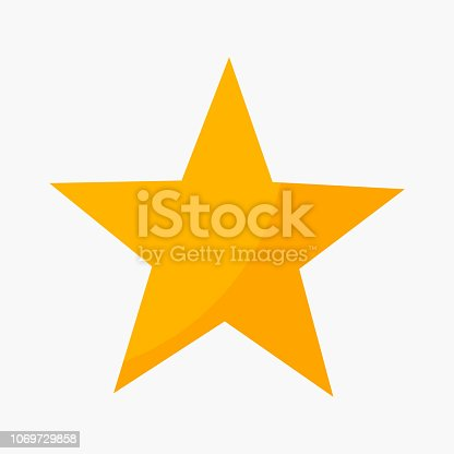 istock Five point star rating icon 1069729858