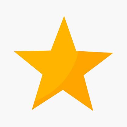 Five Point Star Rating Icon - Stockowe grafiki wektorowe i więcej obrazów Abstrakcja