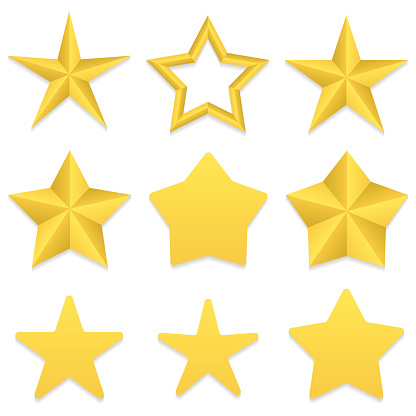 Five point stars collection