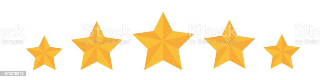 Five Star App >> Five Stars Vector Icon For App And Website Stock Vector Art More