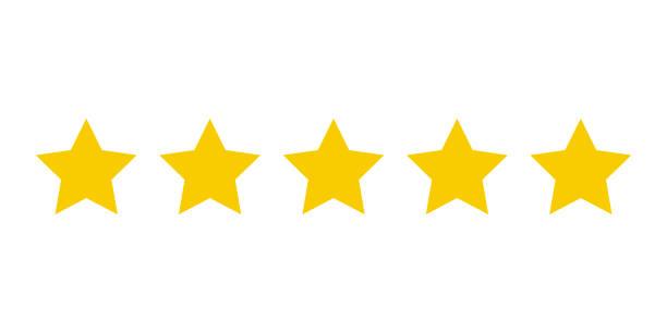 五星客戶產品評級。圖示 fow web 應用程式和網站。 - 成功 幅插畫檔、美工圖案、卡通及圖標