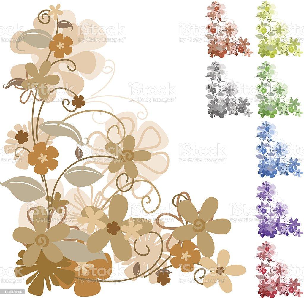 Clipart Blumenranke Vektorgrafiken Und Illustrationen Istock