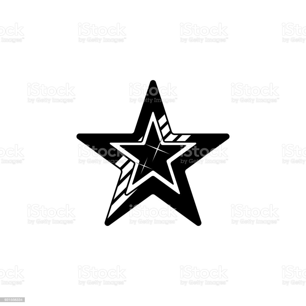 Fivepointed Star Icon Element Of Stars Icon Premium Quality Graphic