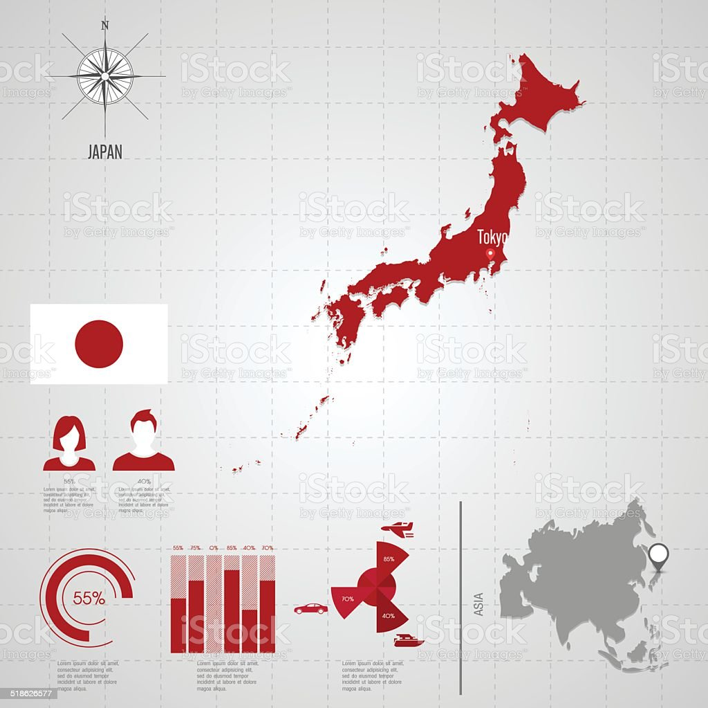 Japan flag asia world map stock vector art more images of adult japan flag asia world map royalty free japan flag asia world map stock vector gumiabroncs Image collections