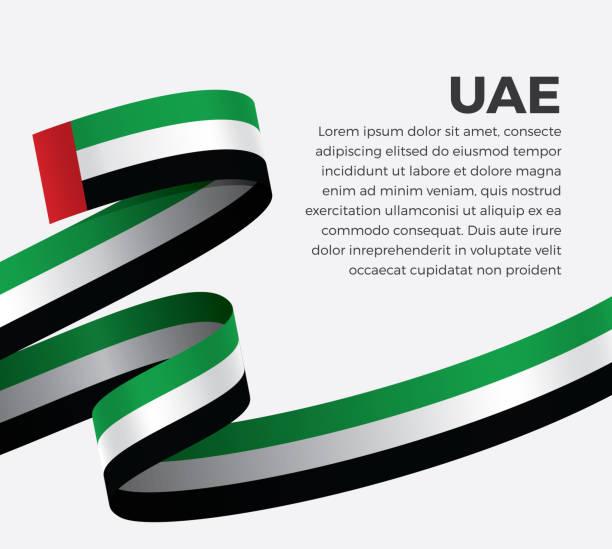 阿聯酋國旗背景 - uae flag 幅插畫檔、美工圖案、卡通及圖標