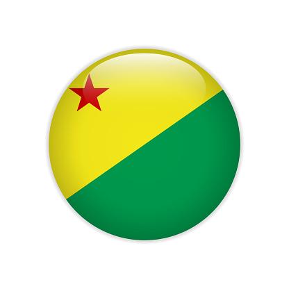 Flag Bandeira do Acre on button
