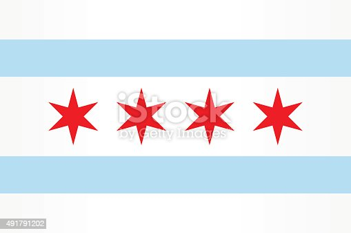 istock Flag Chicago 491791202