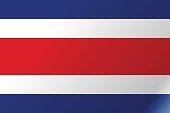 Flag Costa Rica flat icon