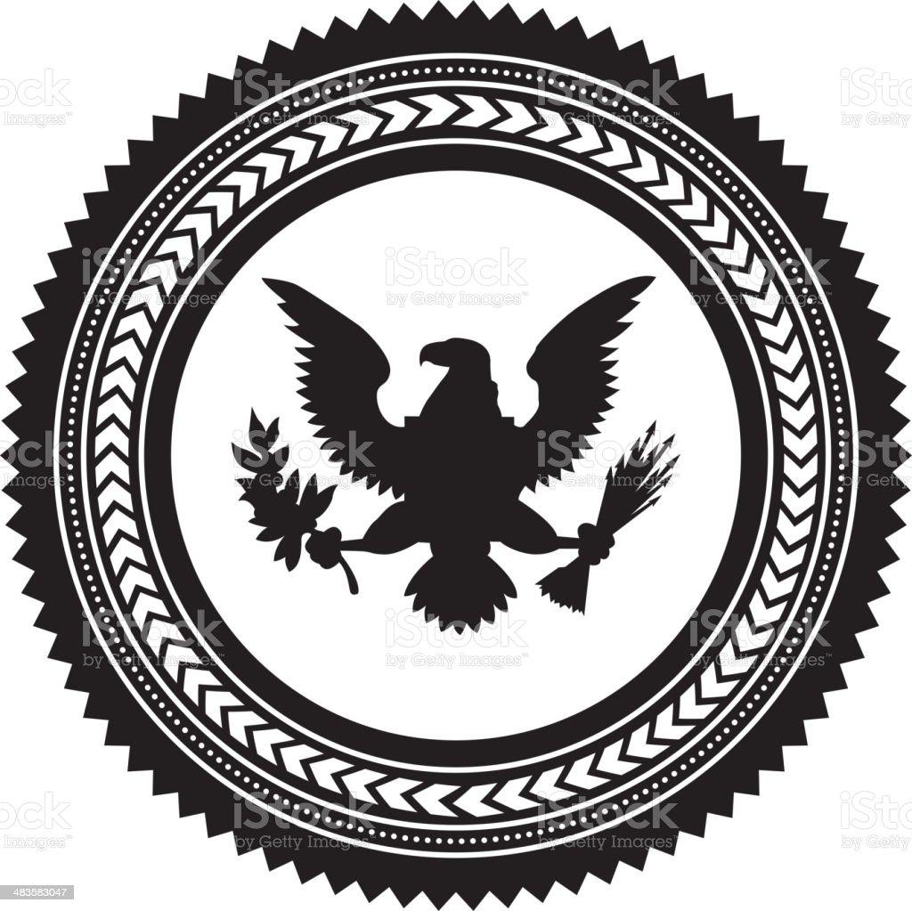 flag day vector art illustration