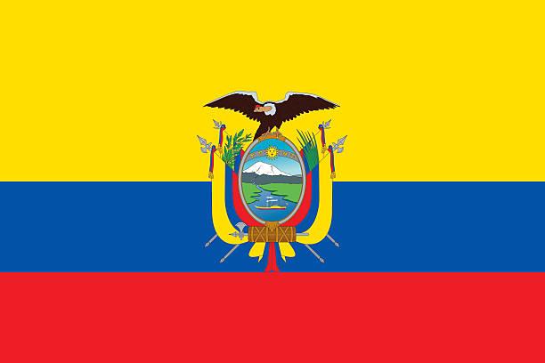 ilustraciones, imágenes clip art, dibujos animados e iconos de stock de bandera ecuatoriana - bandera de ecuador