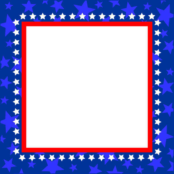It is a picture of Enterprising Patriotic Banner Clipart