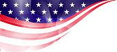 US flag frame