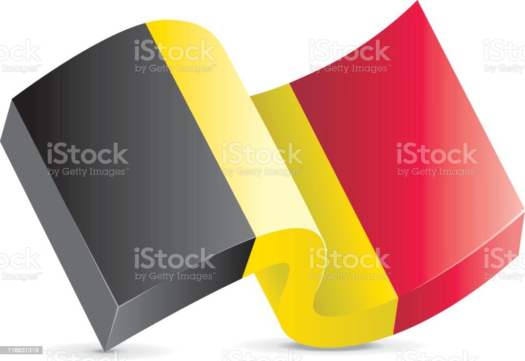 Flag Icon - Belgium royalty-free flag icon belgium stock vector art & more images of belgian culture