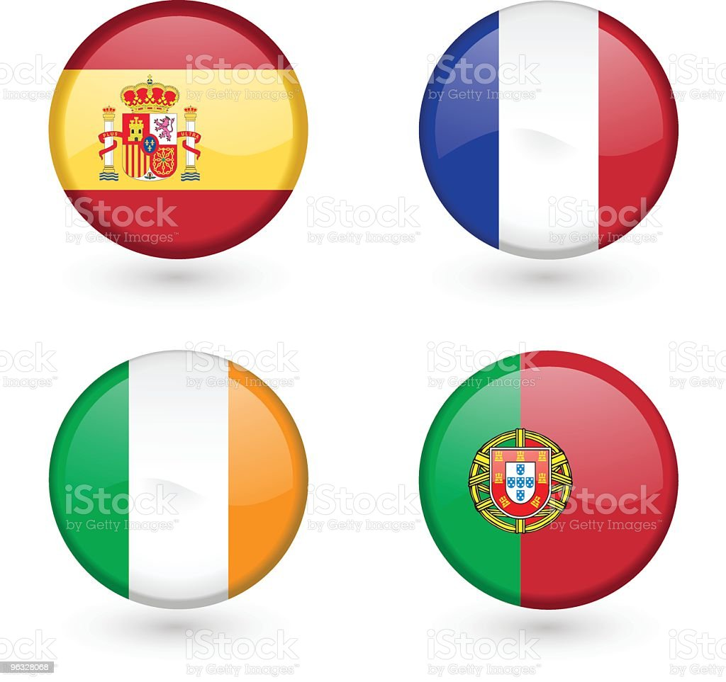 Flag icons 2 royalty-free stock vector art