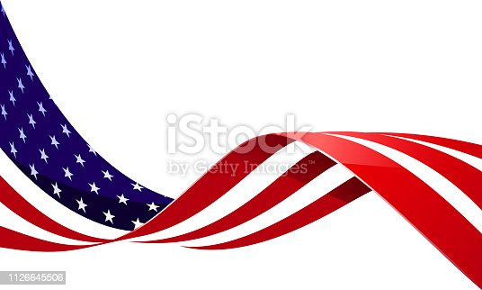 american flag US memorial day background
