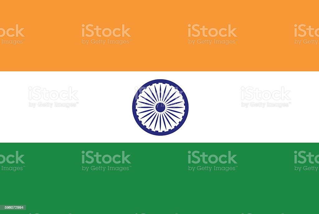 Flag India vector stock illustration royalty-free flag india vector stock illustration stock vector art & more images of art
