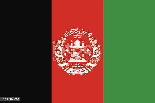 istock Flag of Afghanistan 471757266