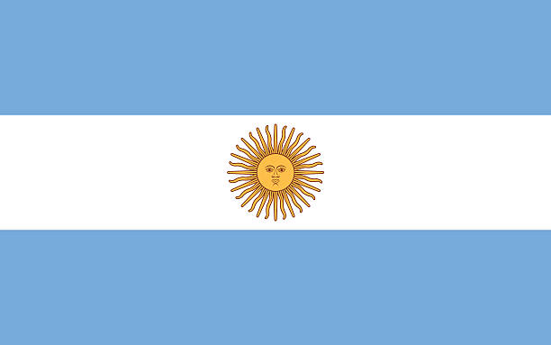illustrations, cliparts, dessins animés et icônes de drapeau de l'argentine - argentine