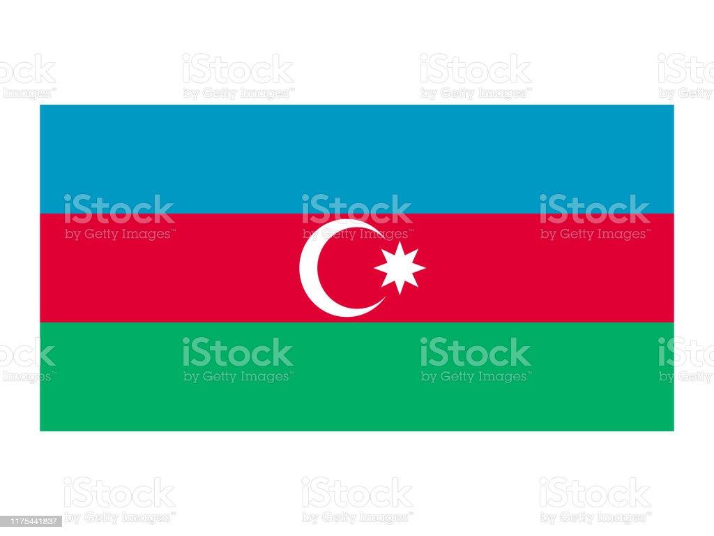 Flagge Von Aserbaidschan Stock Vektor Art Und Mehr Bilder Von Aserbaidschan Istock