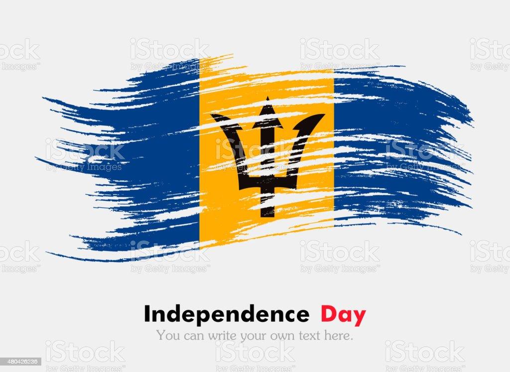 bandera de barbados illustracion libre de derechos 480426236   istock