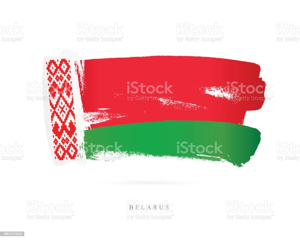 Flag of Belarus. Vector illustration vector art illustration