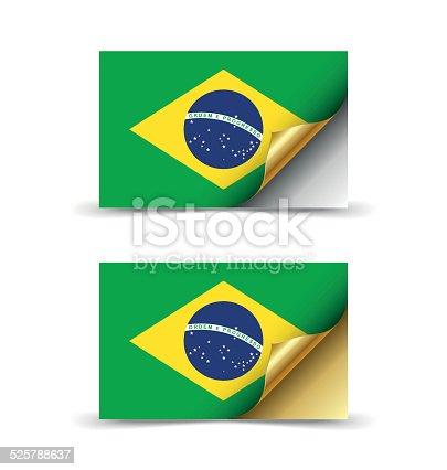 istock Flag of Brazil 525788637