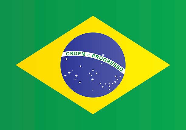 Drapeau du Brésil - Illustration vectorielle