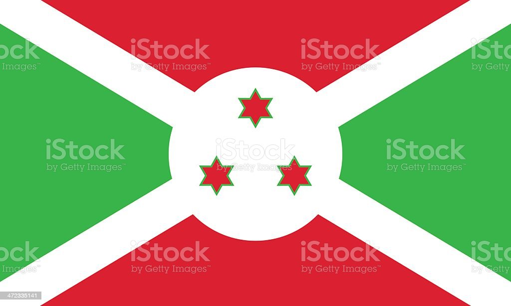 Flag of Burundi royalty-free flag of burundi stock vector art & more images of burundi - east africa