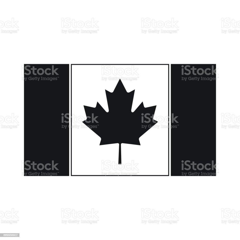 royalty free black and white maple leaf leaf canadian flag clip art rh istockphoto com canada flag border clip art canadian flag clipart