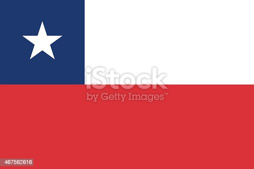 istock Flag of Chile 467562616