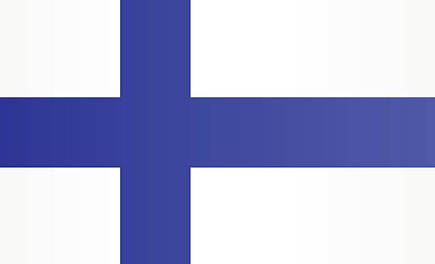 国旗のフィンランド - フィンランドの国旗点のイラスト素材/クリップアート素材/マンガ素材/アイコン素材