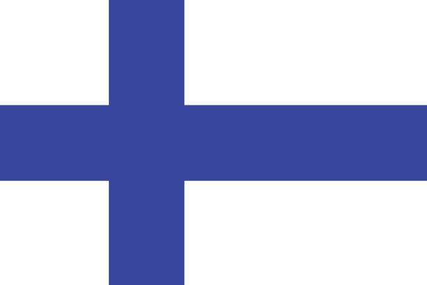 flag of finland - finnish flag stock illustrations, clip art, cartoons, & icons