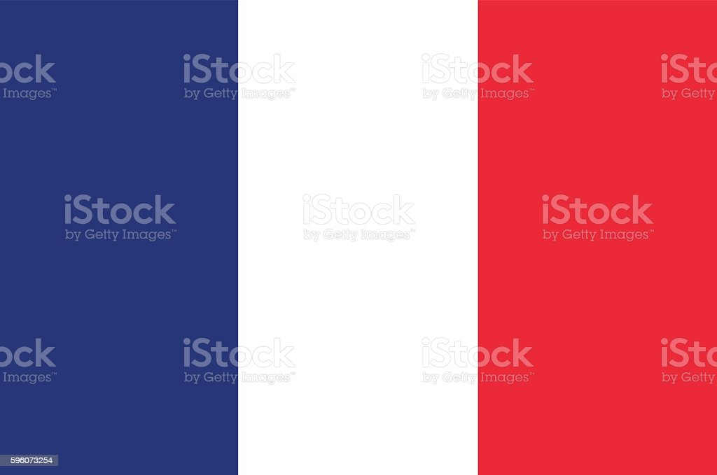 Flag of France. Can be used as background. ベクターアートイラスト