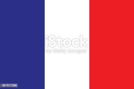 istock Flag of France 657672390